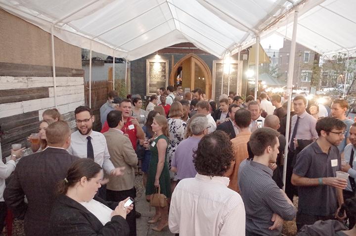 American Sardine Bar hosts Presidential Candidate Martin OMalley in Point Breeze Philadelphia on September 10 2015 - d